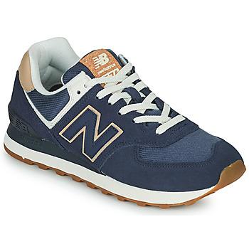 Sko Dame Lave sneakers New Balance 574 Blå