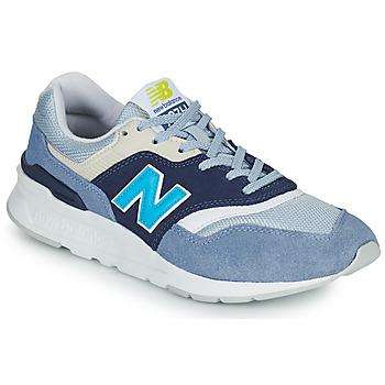 Sko Dame Lave sneakers New Balance 997 Hvid / Blå