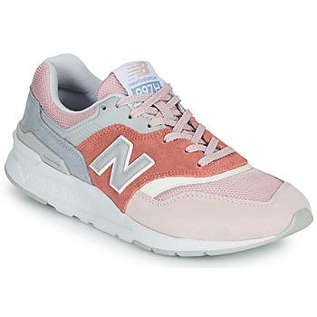 Sko Dame Lave sneakers New Balance 997 Pink / Grå
