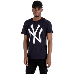 textil Herre T-shirts m. korte ærmer New-Era MLB New York Yankees Sort