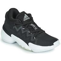 Sko Basketstøvler adidas Performance D.O.N. ISSUE 2 Sort / Hvid