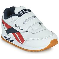 Sko Børn Lave sneakers Reebok Classic REEBOK ROYAL CLJOG 2  KC Hvid / Marineblå / Rød