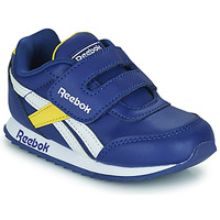 Sko Børn Lave sneakers Reebok Classic REEBOK ROYAL CLJOG 2  KC Blå / Gul / Hvid