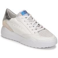 Sko Dame Lave sneakers Semerdjian TANY Hvid / Sølv