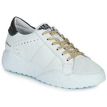 Sko Dame Lave sneakers Semerdjian KYLE Hvid / Beige / Sort