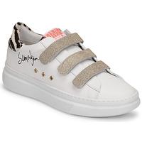 Sko Dame Lave sneakers Semerdjian BARRY Hvid / Guld