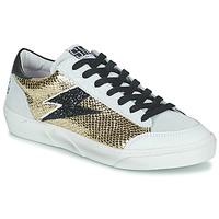 Sko Dame Lave sneakers Semerdjian ELISE Beige / Guld / Sort