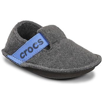 Sko Børn Tøfler Crocs CLASSIC SLIPPER K Grå / Blå