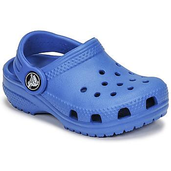 Sko Børn Træsko Crocs CLASSIC CLOG K Blå