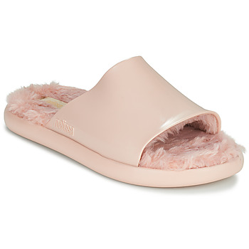 Sko Dame badesandaler Melissa MELISSA FLUFFY SIDE AD Pink