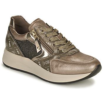 Sko Dame Lave sneakers NeroGiardini  Guld