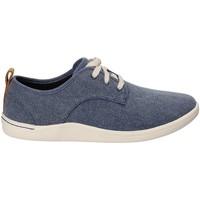 Sko Herre Sneakers Clarks 132276 Blå