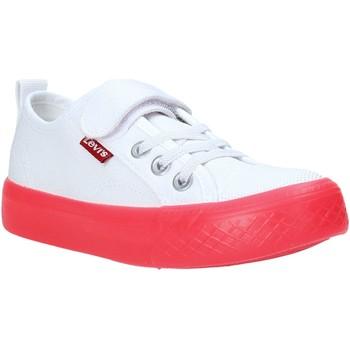 Sko Børn Lave sneakers Levi's VORI0062T hvid