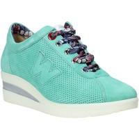Sko Dame Lave sneakers Melluso HR20110 Grøn