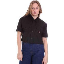 textil Dame Skjorter / Skjortebluser Dickies DK0A4XE1BLK1 Sort