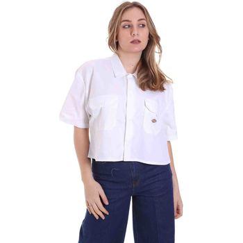 Se Skjorter / Skjortebluser Dickies  DK0A4XE1WHX1 ved Spartoo