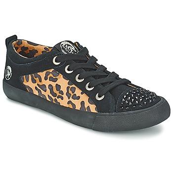 Sko Dame Lave sneakers Diesel LEOPAR Sort