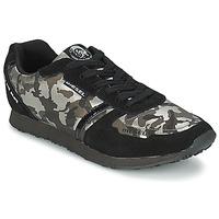 Sko Dame Lave sneakers Diesel CAMOUFLAGE Sort