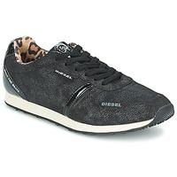 Sko Dame Lave sneakers Diesel METAL Sort
