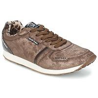 Sko Dame Lave sneakers Diesel METAL Brun