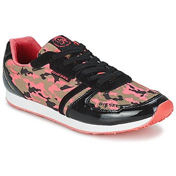 Sko Dame Lave sneakers Diesel CAMOUFLAGE Camouflage