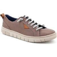 Sko Herre Lave sneakers Grunland SC5190 Brun