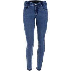 textil Dame Jeans - skinny Freddy BLACK1RS101 Blå