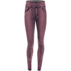 textil Dame Leggings Freddy NOWY1MS101 Lyserød