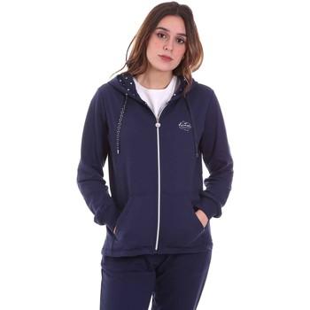 textil Dame Sweatshirts Key Up 5F741 0001 Blå