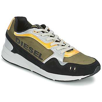 Sko Herre Lave sneakers Diesel Basket Diesel Kaki