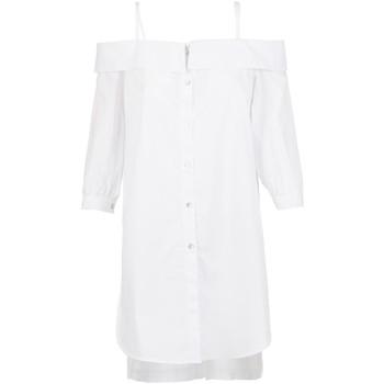 textil Dame Skjorter / Skjortebluser Café Noir JC6260 hvid