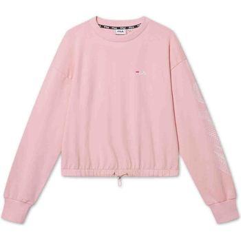 textil Dame Sweatshirts Fila 688480 Lyserød
