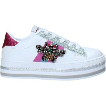 Sko Børn Lave sneakers Sweet Years S21-S00SK416 hvid