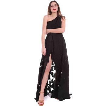 textil Dame Lange kjoler Federica Tosi FTE20AB070.0CH0013 Sort