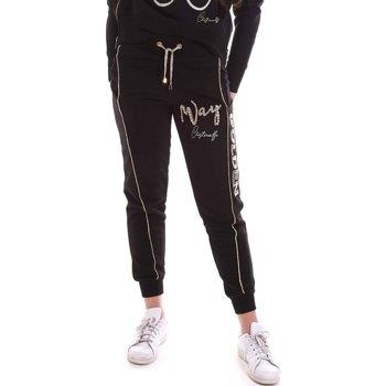 textil Dame Træningsbukser Cristinaeffe 4962 Sort