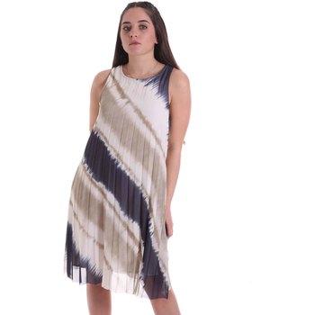 textil Dame Lange kjoler Café Noir JA6040 Beige