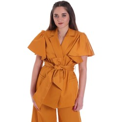 textil Dame Jakker / Blazere Cristinaeffe 0308 2491 Gul