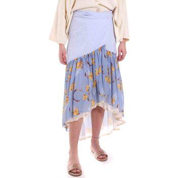 textil Dame Nederdele Alessia Santi 011SD75003 Blå