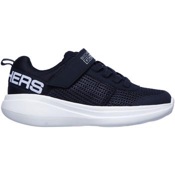 Sko Børn Lave sneakers Skechers 97875L Blå
