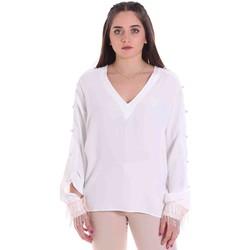 textil Dame Toppe / Bluser Cristinaeffe 0114 2291 hvid