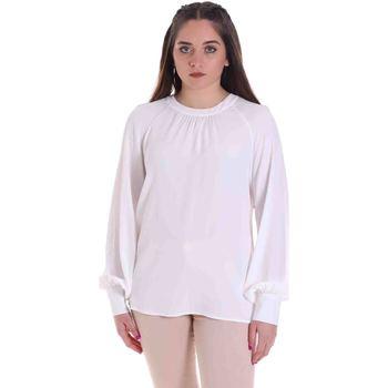 textil Dame Toppe / Bluser Cristinaeffe 0115 2291 hvid