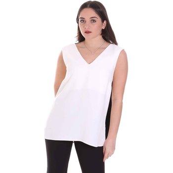 textil Dame Toppe / Bluser Cristinaeffe 1203 2496 hvid