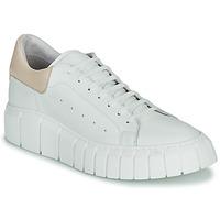 Sko Dame Lave sneakers Sweet Lemon PLANTO Hvid / Beige