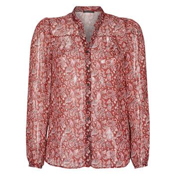 textil Dame Skjorter / Skjortebluser Ikks POULIO Rød