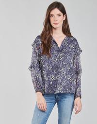 textil Dame Toppe / Bluser Ikks BABAR Blå