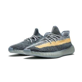 Sko Lave sneakers adidas Originals Yeezy Boost 350 V2 Ash Blue Ash Blue/Ash Blue/Ash Blue