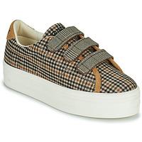 Sko Dame Lave sneakers No Name PLATO M STRAPS Sort