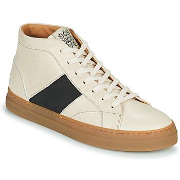 Sko Herre Høje sneakers Schmoove SPARK LOW BOOTS Beige
