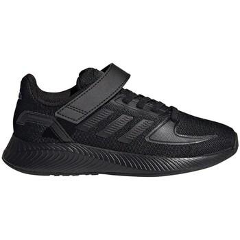 Sko Børn Løbesko adidas Originals Runfalcon 20 C Sort