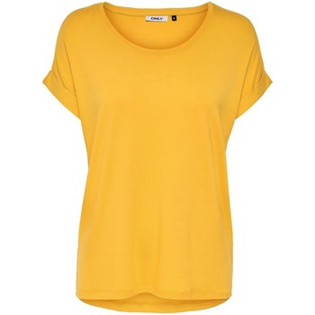T-shirts m. korte ærmer Only  T-shirt femme  Moster manches courtes col rond